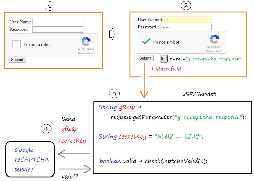 Tích hợp Google reCAPTCHA vào PHP 2