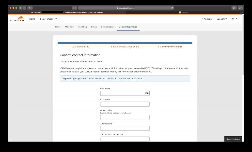 Hướng dẫn transfer tên miền về CloudFlare 18